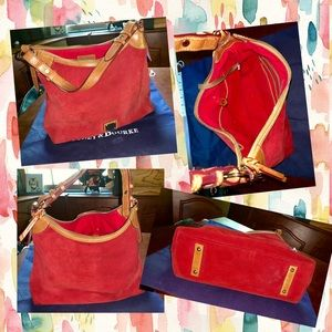 Dooney & Bourke zip-top hobo bag
